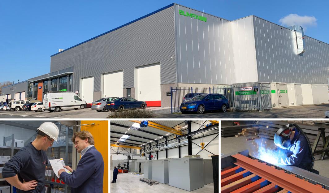 Fabriek en kantoor BUMAX Zwijndrecht Nederland