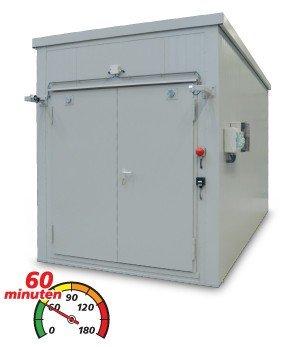 Extra hoge brandwerende containers (BMC H)