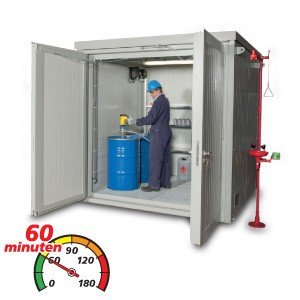 Extra brede brandwerende containers (BMC W)
