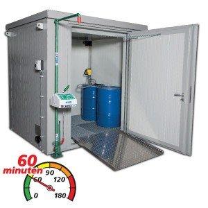 Standaard brandwerende containers (BMC)