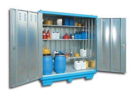 Stalen Containers