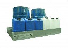 Opvangbakken voor 60-liter vaten en kleiner