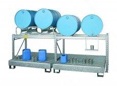 200 liter aftapstellingen