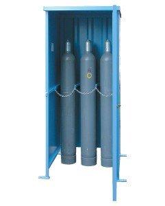 Stalen gasflessenbergingen - losse gasflessen