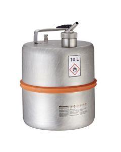Veiligheidsvat 10 liter met fijndoseerkraan
