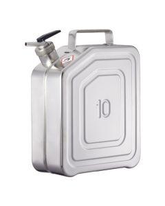 Veiligheids jerrycan 10 liter met fijndoseerkraan