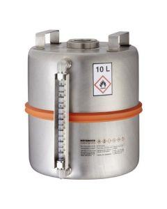 Veiligheids verzamelvat 10 liter met peilglas