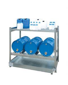 Aftapstelling 3 x 60 liter vaten & kleinemballage, Basissegment
