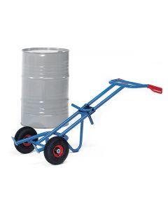 Va\tensteekwagen of vatenkar voor een stalen vat