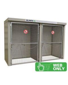 Brandwerende gasflessen opslag - Bumax BM 24-2