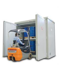 brandwerende pallet container BMC-PL 30.17