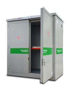 Brandwerende container huur BMC-PL 30.17-IBC