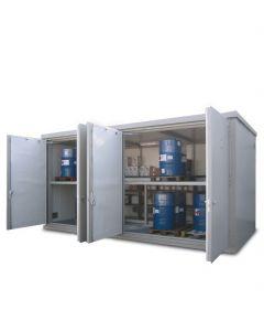 brandwerende pallet container met looppad voor orderpicking - BMC-PL Vari Combi 60.35