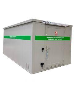 Huurcontainer PGS 15 brandwerend