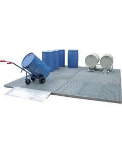 Berijdbaar lekbak vloer Bumax BS 20.10 / 123