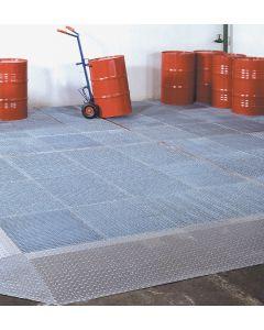Bumax produceert en levert uw berijdbare lekbak vloer