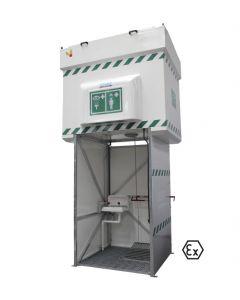 Explosieveilige tankdouche 2.000 liter