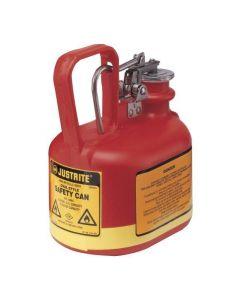 Justrite HDPE veiligheidskan 2 liter, Type I - trekker opener