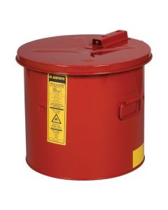 Justrite stalen dompelkan 19 liter