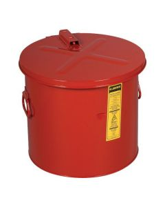 Justrite stalen dompelkan 30 liter
