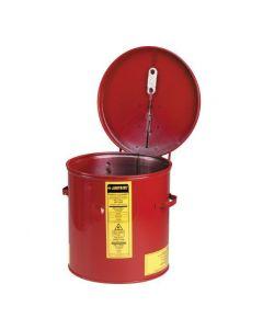 Justrite stalen dompelkan 8,0 liter
