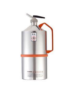 RVS veiligheidskan 5 liter - gepolijst - Industrie uitvoering - L15-2102-B