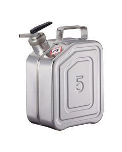 RVS Jerrycan 5 liter - fijndoseer - L15-2110-B