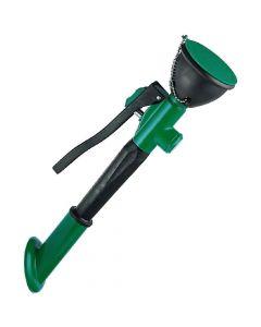 Knijp oogdouche enkel voor 45º wandmontage, groen
