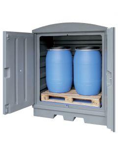 Kunststof opslagstation PE-200-EP8 | voor vaten