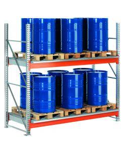 Inhaakbare lekbakken WSR-E 13.33/220 met vaten