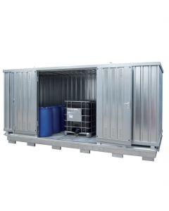 Geïsoleerde milieucontainer SLT 4 x 2