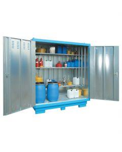 Stalen opslagcontainer type SLH 1x 2 van Bumax