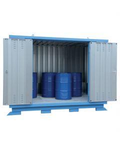 Stalen milieucontainer van Bumax type SLH 4 x 2