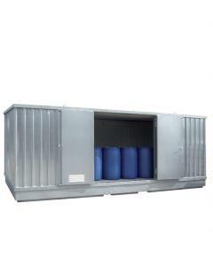 Geïsoleerde milieucontainer SLT 6 x 3 - extra breed