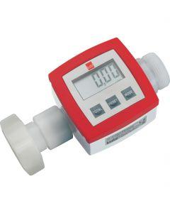 Flowmeter TR90 PVDF t.b.v. pompwerk - zuren en logen