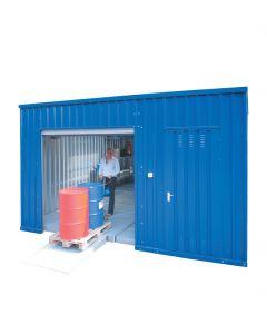 Grote chemicaliën opslagcontainer van Bumax, type WS-LH 5 x 8