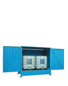 Stalen systeemcontainer WSC-F-E.1-35 - 3 x IBC