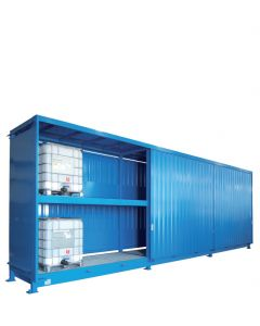 Stalen systeemcontainer WSC-F-E.2-110 - 18 x IBC