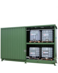 Stalen systeemcontainer WSC-F-E.2-54 - 8 x IBC