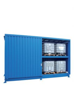 Stalen systeemcontainer WSC-F-E.2-27 - 4 x IBC