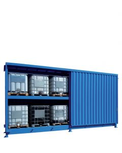 Stalen systeemcontainer WSC-F-E.2-70 - 12 x IBC
