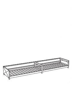 Milieucontainer voor inpandig gebruik, type WSC-G-E.1-60
