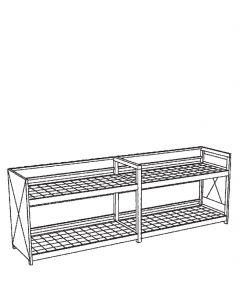 Milieucontainer voor inpandig gebruik, type WSC-G-E.2-60