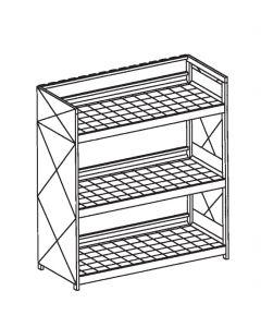 Milieucontainer voor inpandig gebruik, type WSC-G-E.3-30