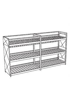 Milieucontainer voor inpandig gebruik, type WSC-G-E.3-60