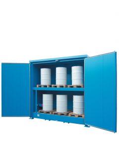 Geïsoleerde systeemcontainer WSC-T-E.2-30 - 6 europallets