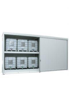 Geïsoleerde systeemcontainer WSC-T-E.2-60 - 12 europallets