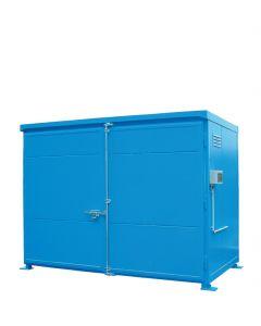 Geïsoleerde systeemcontainer WSC-T-E.1-30 - 3 europallets