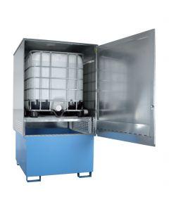 Opslagcontainer voor 3 x IBC